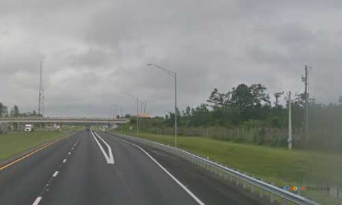 fl i10 truck weigh station westbound mile marker 155