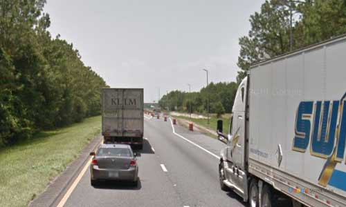 fl i10 truck weigh station westbound mile marker 264
