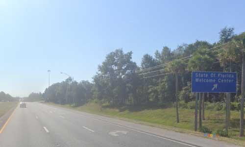 fl i10 welcome center rest area eastbound mile marker 4