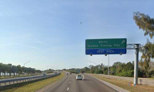 fl i275 rest area southbound mile marker 13