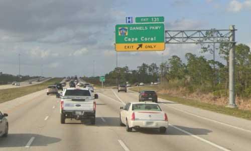 fl i75 rest area northbound mile marker 131