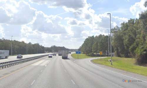 fl i75 rest area southbound mile marker 308