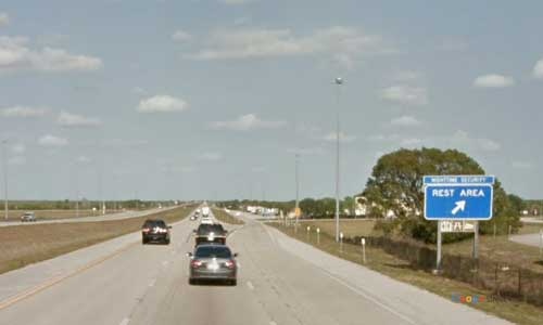 fl i75 rest area southbound mile marker 34