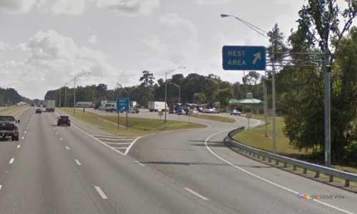 fl i75 rest area southbound mile marker 413