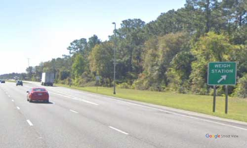 fl i95 truck weigh station southbound mile marker 286